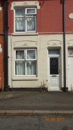 Thumbnail 2 bedroom terraced house for sale in Luther Street, Leicester