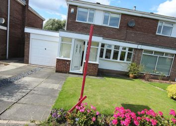 Thumbnail 3 bed semi-detached house to rent in Medina Close, Sunderland