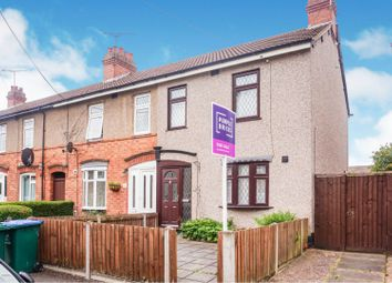 3 bed end terrace house for sale in Fowler Road, Coventry CV6