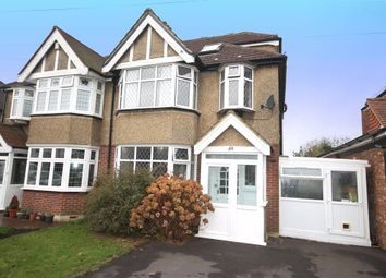Thumbnail 4 bed semi-detached house for sale in Tattenham Grove, Epsom