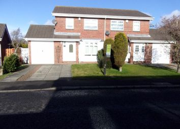 Thumbnail 3 bed semi-detached house for sale in Home Park, Wallsend