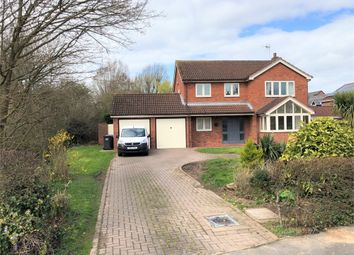Thumbnail 4 bed detached house for sale in Britannia Drive, Stretton, Burton-On-Trent, Staffordshire
