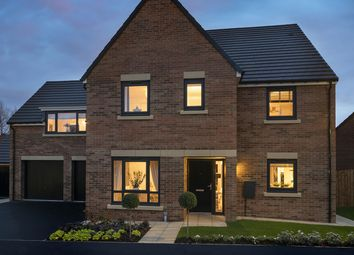"""Thumbnail 5 bed detached house for sale in """"The Hepscott"""" at Loansdean, Morpeth"""