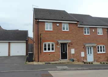 Thumbnail 3 bed semi-detached house to rent in Lamphouse Way, Wolstanton, Newcastle Under Lyme