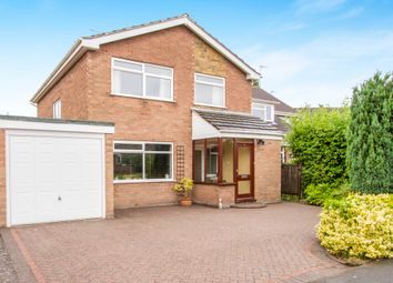 Thumbnail 4 bed detached house for sale in Rushton Close, Balsall Common, Coventry