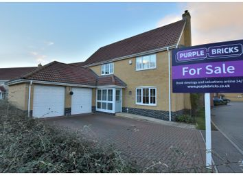 Thumbnail 4 bed detached house for sale in Windmill Close, Gt Cornard, Sudbury