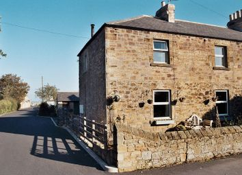 Thumbnail 3 bed semi-detached house for sale in The Mains Farm, Guilden Road, Warkworth, Morpeth