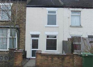 Thumbnail 3 bed terraced house for sale in Lincoln Road, Milfiled, Peterborough, Cambridgeshire.