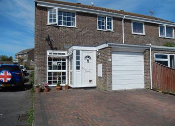 Thumbnail 3 bed semi-detached house for sale in Limekiln Close, Portland
