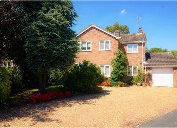 Thumbnail 4 bedroom detached house for sale in Ash Road, Stilton