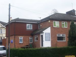 Thumbnail 4 bed semi-detached house to rent in Redstone Hill, Redhill