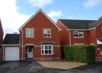 Thumbnail 4 bed detached house to rent in Knights Crescent, Exeter