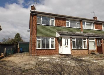Thumbnail 3 bed semi-detached house for sale in Carolbrook Road, Ipswich