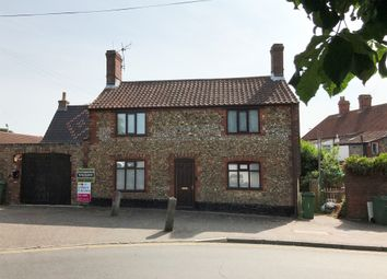 Thumbnail 3 bedroom detached house for sale in Back Lane, Wymondham