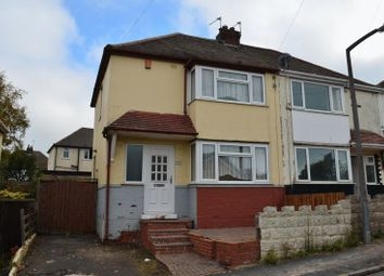 Thumbnail 3 bedroom semi-detached house for sale in Tunnel Road, Hill Top, West Bromwich