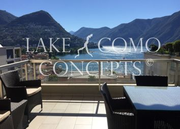 Thumbnail 3 bed apartment for sale in Apartment Overlaking Lake, Lugano (District), Ticino, Switzerland