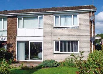 Thumbnail 2 bed flat for sale in 30 Greystoke Place, Cramlington, Northumberland
