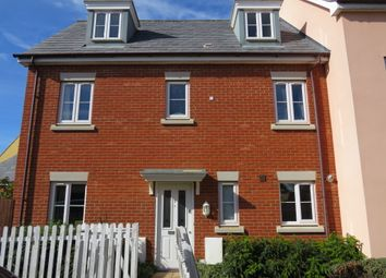Thumbnail 4 bed town house for sale in Wisteria Drive, Wymondham