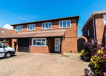 Thumbnail 4 bed semi-detached house for sale in Shaftesbury Avenue, Southend-On-Sea