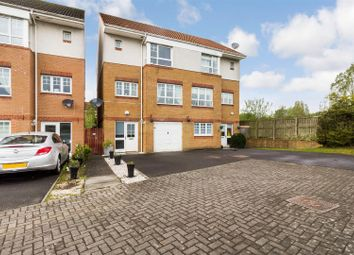 Thumbnail 3 bed town house for sale in Bernisdale Place, Drumchapel, Glasgow