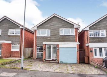 Thumbnail 3 bed detached house for sale in Redruth Close, Park Hall, Walsall