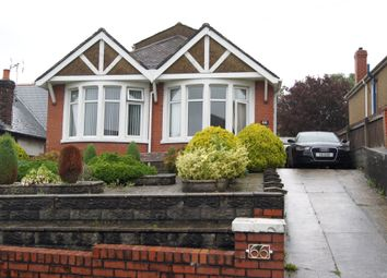 Thumbnail 2 bed detached bungalow for sale in Pontypridd Road, Barry