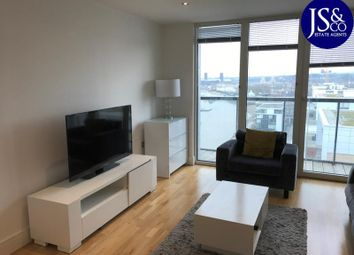 Thumbnail 2 bed flat to rent in Admirals Tower, New Capital Quay, Dowells Street, Greenwich