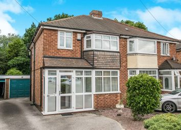 Thumbnail 3 bed semi-detached house for sale in Corinne Croft, Kingshurst, Birmingham