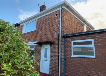 Thumbnail 2 bed semi-detached house to rent in Riddings Road, Sunderland, Sunderland