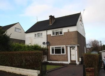 Thumbnail 2 bed semi-detached house for sale in Iain Road, Bearsden, Glasgow, East Dunbartonshire