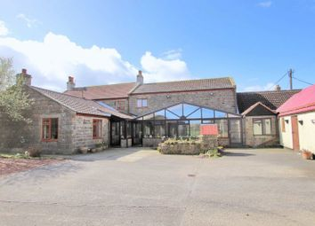 Thumbnail 5 bed farmhouse for sale in Whitehall Farm, The Lane, Mickelby
