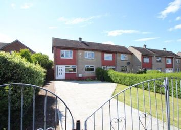 Thumbnail 2 bed end terrace house for sale in Amochrie Road, Paisley, Renfrewshire