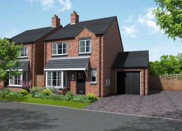 Thumbnail 3 bed detached house for sale in Newton Lane, Austrey, Atherstone