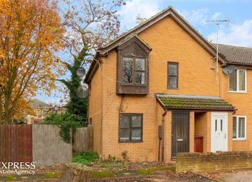 Thumbnail 1 bed end terrace house for sale in High School Close, March, Cambridgeshire