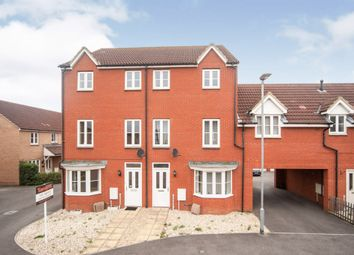 Thumbnail 4 bed town house for sale in Carpathian Way, North Petherton, Bridgwater