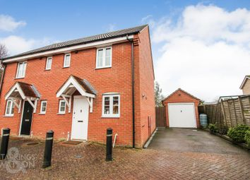 Thumbnail 2 bed semi-detached house for sale in Jenner Close, Bungay