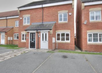 Thumbnail 3 bed semi-detached house for sale in Heather Lea, Blyth