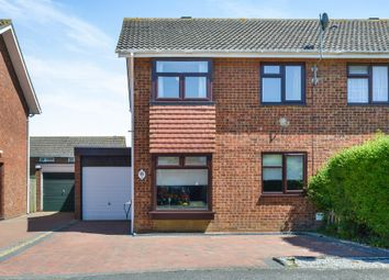 Thumbnail 3 bed semi-detached house for sale in Pentlands, Fullers Slade, Milton Keynes