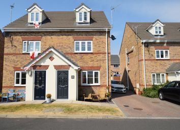 Thumbnail 4 bed semi-detached house for sale in Farnham Close, Barrow-In-Furness, Cumbria