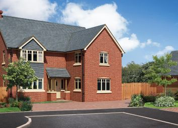 Thumbnail 4 bed detached house for sale in The Beeches, Chester Road, Whitchurch