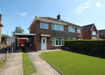 Thumbnail 3 bed semi-detached house for sale in Foxburrow Road, Sprowston, Norwich