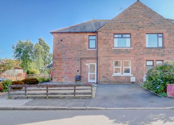 Thumbnail 2 bed flat for sale in Grierson Avenue, Dumfries