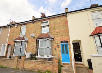 Thumbnail 2 bedroom terraced house to rent in Coombe Road, Gravesend