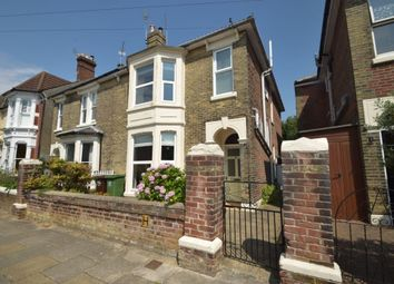 Thumbnail 5 bed semi-detached house for sale in Lorne Road, Southsea