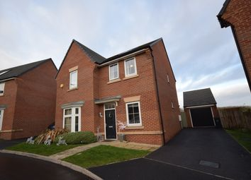 Thumbnail 4 bed detached house to rent in Foster Crescent, Silverdale, Newcastle
