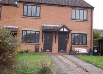 Thumbnail 2 bed semi-detached house to rent in Shakespeare Close, Leyfields, Tamworth, Staffordshire
