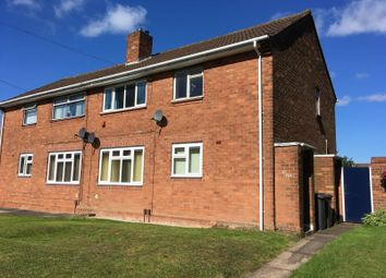 Thumbnail 1 bed flat to rent in Pritchard Avenue, Wednesfield, Wolverhampton, West Midlands