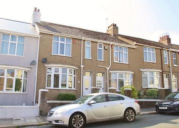 Thumbnail 3 bed terraced house to rent in Watts Park Road, Peverell, Plymouth