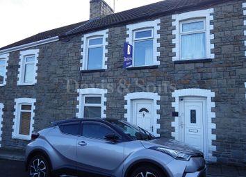 Thumbnail 3 bed terraced house for sale in Torlais Street, Newbridge, Newport.