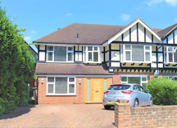 Thumbnail 5 bed semi-detached house to rent in Ullswater Crescent, Kingston Vale, London